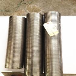 ステンレス鋼の適用範囲が広い排気機構の連結のホース