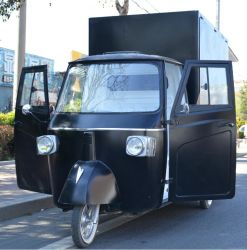 人目をひくものは販売のためのPiaggioのサルの食糧トラックのPiaggio食料調達の移動式棒を予約した