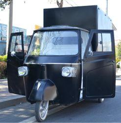Oeil Catcher Piaggio Ape traiteur sur mesure Van Piaggio Ape Piaggio Chariot Mobile Bar alimentaire pour la vente