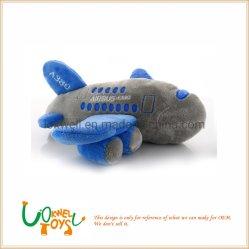 教育詰められたカスタム飛行機のプラシ天のおもちゃ