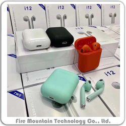 I12 IPX7 para o pescoço à prova de som estéreo sem fio Bluetooth Headset magnético para desportos OEM Fabricante de fábrica