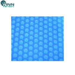 Usine grosse bulle en plastique bleu d'alimentation de couverture de piscine