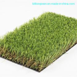 人工的な草の40mmの高密度の芝生の草の総合的な草の偽造品の草の庭の草