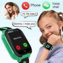Timethinker S4のスマートな腕時計の子供のAgps Lbsの腕時計SIMのカード人間の特徴をもつIosの子供のSmartwatch Sos呼出し位置の追跡者Reloj Hombre