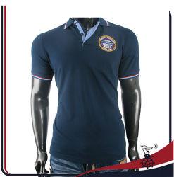 주문 주문을 받아서 만들어진 입기 분명히 공백 또는 줄무늬 인쇄한 인쇄하거나 자수 의복 또는 의복 면 또는 폴리에스테 불쾌 또는 저어지 복장 남자의 골프 폴로 셔츠