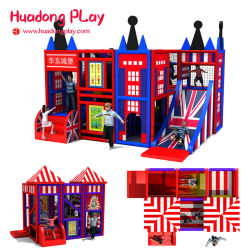 Kinderen Soft Indoor Playground Equipment Indoor Maze Jungle Gym Naughty Kasteel