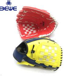 上のSaling OEMのブランドPUの柔らかい野球及びソフトボールの手袋