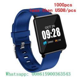 USD8/PCSの方法スポーツの防水Bluetoothのスマートな腕時計のISOのアンドロイドのための屋外の腕時計のブレスレットよりより少し