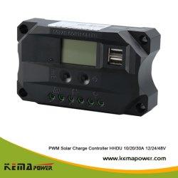 디지털 디스플레이가 있는 HH-Du 10amp PMW Solar Charge Controller