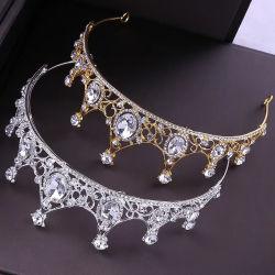 De nieuwe Juwelen van de Ornamenten van het Haar van de Kroon van de Juwelen van de Prinses van de Bruid van de Stijl Gevoelige voor Singelband