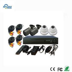 أنظمة أمان داخلية وخارجية أو داخلية 4CH CCTV أطقم مسجل الفيديو الرقمي (DVR) للكاميرا