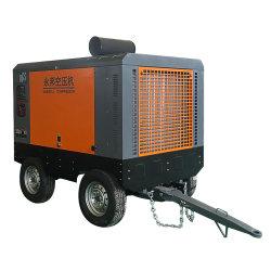 Compressore d'aria portatile diesel della vite di 750 Cfm per la piattaforma di produzione