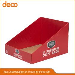 Cuadro de cartón papel vitrina para el sector minorista