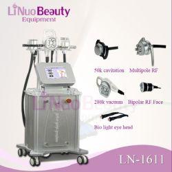 Hottest ! ! ! 5 En1 Multi-Functions Linuo vide à ultrasons 50K la cavitation de la machine de cavitation RF Machine minceur