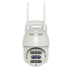 2K lente HD Piscina Piscina APP hotspot Wireless Segurança Inteligente Câmara CCTV com rotação horizontal na vertical