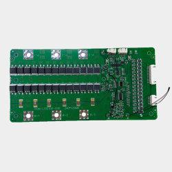 Interruptor de protección de la batería Tempereture BMS junta 15s 100 a LiFePO4 battery BMS con saldo