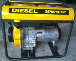 4.0Kw/4.0kVA/4000watt 120/240V Groupe électrogène Diesel Portable de plein air