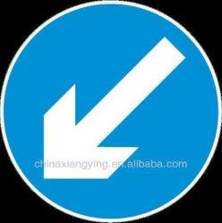 Sinal de Trânsito Board material refletivo Triangle sinal de trânsito de produtos de segurança