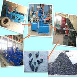 Afvalbandrecycling Machine/Afvalband Recycling Installatie/Tyre Recycling Machine