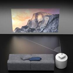 Proiettore portatile pieno natale di vendita caldo del teatro domestico dell'affissione a cristalli liquidi di lumen alti 1080P HD 4K video