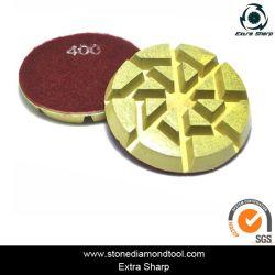 3'' resina híbrida de pulido de piso de concreto Pad