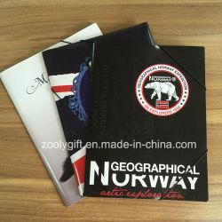 Bolso impressas em papel personalizado pasta Arquivo Arquivo de papel A4