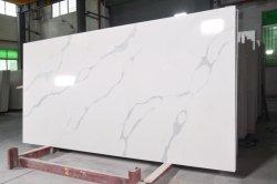 주문 크기에 의하여 설계되는 Calacatta 석영 돌 부엌 싱크대