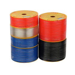 Rojo Azul transparente de Poliuretano de tubos de aire PU neumática basado en el éster de tubos de la manguera del tubo de TPU PU PU Éter de tubos prueba de agua basado en el tubo de PU