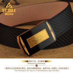 New Arrival Fashion Men Belt Brass Clip Buckle Split Leather (新登場 ベルト中国のメーカーのシックな本革ベルト