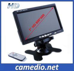 7inch 선택 큰 차량을%s 디지털 Screen&24V를 가진 독립 차 뒷 전망 LCD 모니터