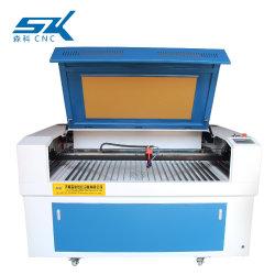 3D Crystal CO2 MDF 나무 CNC 레이저 가공 기계 1390 레이저 각인 절단 장비 80W 100W 150W 비금속 목재 보석 레이저 Engraver