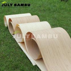 vernisje van het Bamboe van 0.6mm het Decoratieve Houten voor het Vernisje van de Muur van het Bamboe