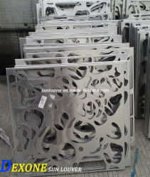 Metal di alluminio Carved Panel Used come Curtain Wall