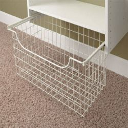 Supermarché Wire Mesh pliable Hanging Basket pour afficher l'étagère de gondole