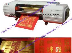 Flash disque connecté de la dorure presse numérique feuille chaude Estampillage (WS) de la machine