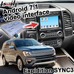 GPS van Lsailt het Androïde Systeem van de Navigatie voor Doorwaadbare plaats Expidition Sync 3 de Link van de Spiegel van Waze Yandex van het Systeem