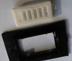 Schwarzes ABS Plastic Switch Plates, ABS Parts von Subplate