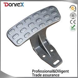 hecho personalizado de inversión de fundición de acero inoxidable de pedal de pie