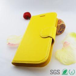 Étui en cuir de téléphone mobile à la mode pour tendance Duos Sumsung Galaxy S7562