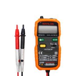 Pocket Full-Automatic Multimètre numérique n'a pas besoin de passer les vitesses