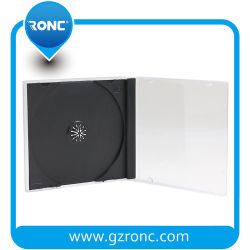 Venda de fábrica Bandeja preta 5,2mm 10.4mm colorida Caixa do CD
