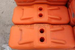 Plástico UV Color de la base de pies para valla temporal de instrumentos (XMR129)