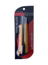 高品質は安全オフィスの使用のための引き込み式ボックスカッターのナイフを修復した