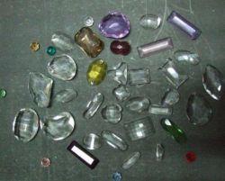 Lustre en cristal strass du vêtement de pièces de décoration Pendentif en pierre des perles de verre d'accessoire