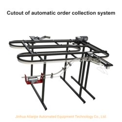 Fabrik-Arbeitskleidungs-automatisches bestellensystem