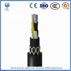 Ce сертифицирована Lihch/Lihch-Tp низкий дым галогенов 4core 3мм гибкий кабель ПВХ изоляцией данных кабель управления