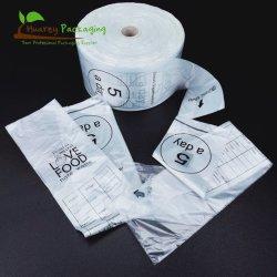 Supermercado Personalizar o plástico de HDPE produzir Bag Rolo da China Fornecedor