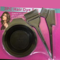 Escova de cores de corantes capilares e tigela, Escova de cor de cabelo tigela de mistura perfeita do Kit de Ferramentas para a coloração do cabelo morrer aplicador de coloração