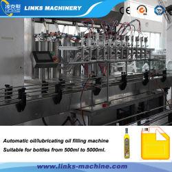 Aceite de tipo lineal automático de dispositivos de embotellado