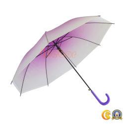 우산의 기온변화도 자주색 Poe 투명한 싼 다른 유형